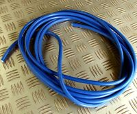 1M MAINS HEAVY DUTY 2.5mm sq ARCTIC BLUE HOOK UP CABLE LEAD HORSE BOX CARAVAN