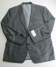 Tommy Hilfiger Mens Tailored Trim-Fit Suit Jacket Grey 46...