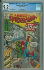 AMAZING SPIDER-MAN #92 CGC 9.2 OW/WH PAGES