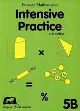 NEW Singapore Math Intensive Practice 5B - FREE SHIPPING!!!