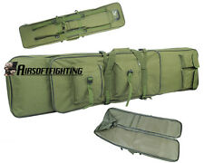120cm Tactical 2Ways Rifle Gun Shotgun Carry Case Military Bag Backpack OD Green