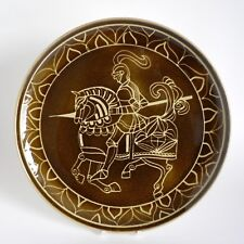 More details for poole pottery aegean 'knight on horseback' 12.5
