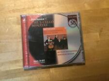 Beethoven - 5 Cello Sonatas [2 CD Album] PHILIPS Rostropovich Sviatoslav Richter