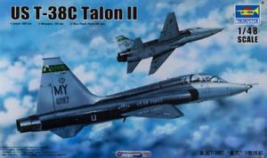 Trumpeter 02876 1/48 US T-38C Talon II Plastic Model Kit