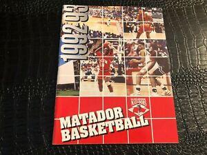 1992-1993 CALIFORNIA NORTHRIDGE - NCAA College Basketball Media Guide - Yearbook