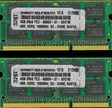 "8GB 2X 4GB RAM MEMORY FOR APPLE MACBOOK PRO 13"" ALUMINUM MID 2009 2010 NEW!!!"