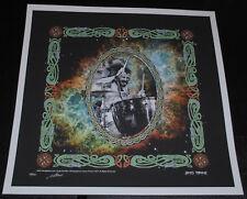 John Bonham Led Zeppelin print poster #/500 Macrae art rare psychedelic 2006 LE