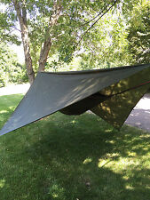 Hammock w/bug netting, rainfly & tree straps, Complete System, Backpacking BLUE