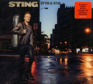 Sting - 57th & 9th (CD-Album Digisleeve A&M Records 00602557174496) Neu/OVP 2016