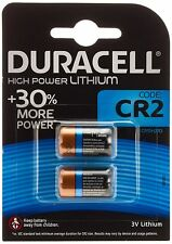 Duracell Ultra Power Type CR2 Alkaline Batteries, pack of 2 DLCR2 3V
