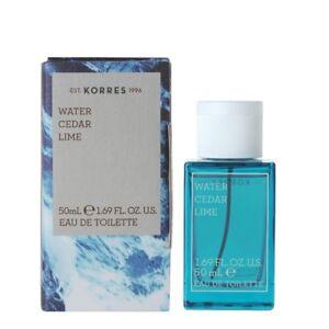 7Korres Eau De Toilette,EDT,Fragrance Men,Water,Cedar,Lime,50ml