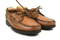 Florsheim Outdoorsman Men's Brown Leather Deck Boat Shoes Size 8 D