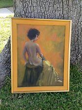 Vintage Abbi Gayle Sitting Nude Woman