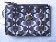 ~COACH Wallet Peyton Dream Skinny ID Sig. C Print New w Tags Great Deal!~