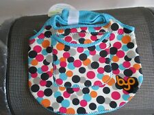BNWT Built NY Dot Zesty zip top Lunch Bag by BYO, machine washable, Large dots