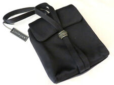 Judith Jack Italy Black Evening Bag Purse Black Silk Satin Marcasite Handbag