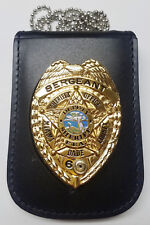 Miami-Dade Sheriff (Florida) Badge/ID Neck Holder (Badge/ID Card Not Included)