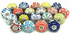 10 PC Ceramic Door Knobs handle Pulls Kitchen knobs Handle Drawer Multi Color
