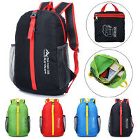 Ultraligh Waterproof Backpack Hiking Trekking Bag Camping Travel Sport Pack