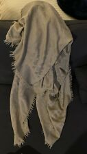 Louis Vuitton Monogram Shawl Scarf Wool 60%  Silk LV