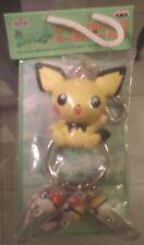 Pokémon Pichu Poke Ball Keychain Key ring chain Action Figure Toy # 172 Pikachu