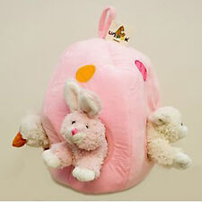 Easter Bunny Rabbit House Pink by Unipak