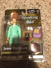 Breaking Bad Jesse Pinkman Blue Hazmat Suit Previews Exclusive 6 Inch Figure