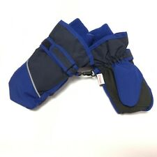 The Children's Place Snow Mittens Fleece Lined Ski Blue Black Size M 2T-3Y New