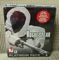 Tom Clancy's Rainbow Six Rogue Spear Platinum Pack (PC) windows game NEW Sealed