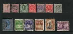 Sierra Leone collection of 13 used