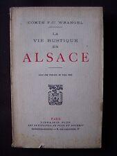 La vie rustique en Alsace ( Territoire de Belfort )