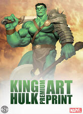 King Hulk Premium Art Print by Sideshow Collectibles Sold Out