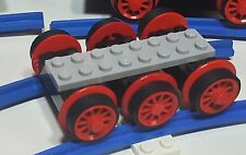 LEGO-138-Haftreifen LEGO-30 Stück,schwarz- Eisenbahn-4,5V-138