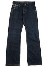 Para Hombre G-star Raw Jeans Talla Cintura 28 leg 31 Tachas Corte Recto
