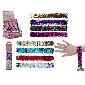Colour Change Sequin Snap Bracelet
