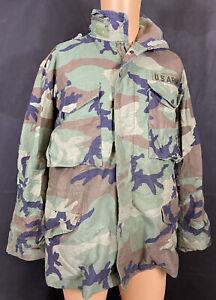 US Military M65 BDU Woodland Camouflage Combat Field Jacket
