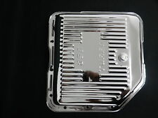 CHEVROLET TURBO 350 POLISHED CHROME TRANSMISSION PANS