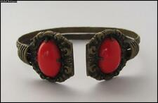 European Ladies Bronze Bracelet 19C. Antique Medieval Style