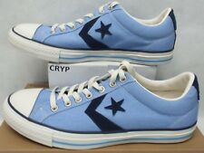 New Mens 11 Converse Star Player OX Carolina Blue Canvas 136938C $50
