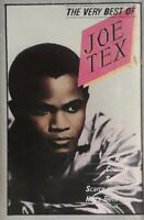 The Very Best Of Joe Tex Cassette.1988 Charly TC CDX29.Hold What You've Got+