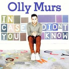 OLLY MURS - In Case You Didnt Know (2012) NEU & OVP