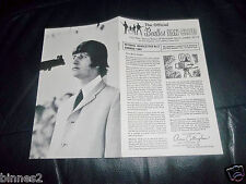 THE BEATLES OFFICIAL UK FAN CLUB NEWSLETTER BOOKLET GENUINE SUMMER 1965 AWESOME