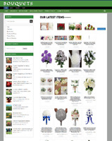 LUXURY BOUQUETS WEBSITE BUSINESS - NEW DOMAIN + 1 YEARS HOSTING - EASY TO RUN