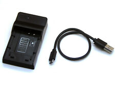 USB Battery Charger For CGA-S009 Panasonic Lumix DMC-TS1 DMC-TS2 DMC-TS3 DMC-TS4