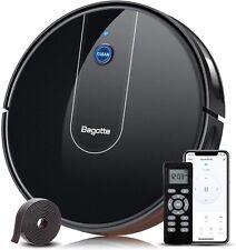 "Bagotte Robot Vacuum Bg700 1600Pa Suction, 2.7"" Super-Thin, Wi-Fi 100 Minutes ru"