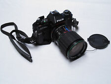 Fuji DX AX 35mm SLR Camera Hanimex 62mm Auto Zoom Macro Lens 1:3.5-4.5 f=28-85