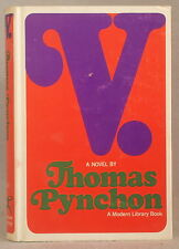 V. by THOMAS PYNCHON First Edition MODERN LIBRARY Hardcover DUST JACKET