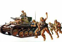 Tamiya 1:35 WWII Panzer Kampfwagen II Ausf.F/G