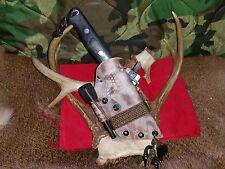 Bark River Bravo 1 Custom Kydex Sheath- mil spec, Yellow Hawk Customs