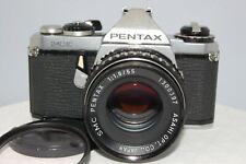 【EXC++】Asahi Pentax ME Silver Film camera SMC Pentax 55mm 1.8 From Japan #0034